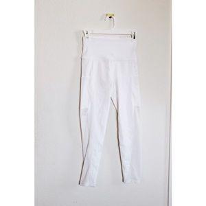 White mesh leggings NWT